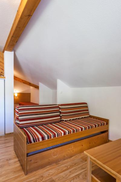 Skiverleih Résidence les Cimes du Val d'Allos - Val d'Allos - Wohnzimmer