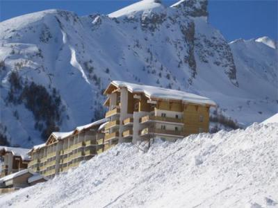 Location Val d'Allos : Residence Plein Sud hiver