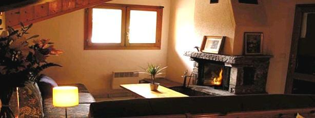 Location au ski Appartement 5 pièces 9 personnes - Chalet Tuteliere - Val d'Isère - Cheminée