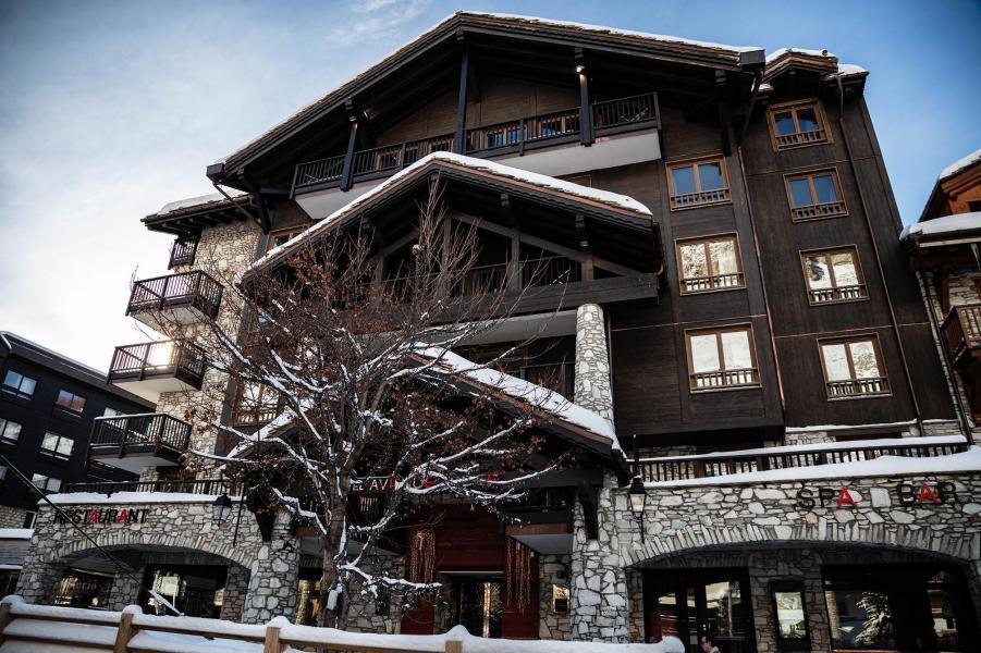 Urlaub in den Bergen Avenue Lodge Hôtel - Val d'Isère - Draußen im Winter
