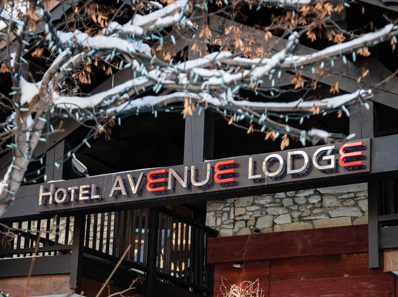 Holiday in mountain resort Avenue Lodge Hôtel - Val d'Isère - Winter outside