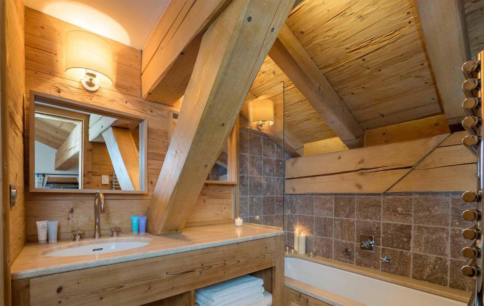 Аренда на лыжном курорте Chalet Davos - Val d'Isère - Ванная