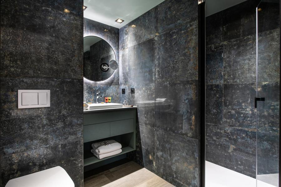 Аренда на лыжном курорте Апартаменты 3 комнат 4 чел. - Chalet Izia - Val d'Isère - Ванная