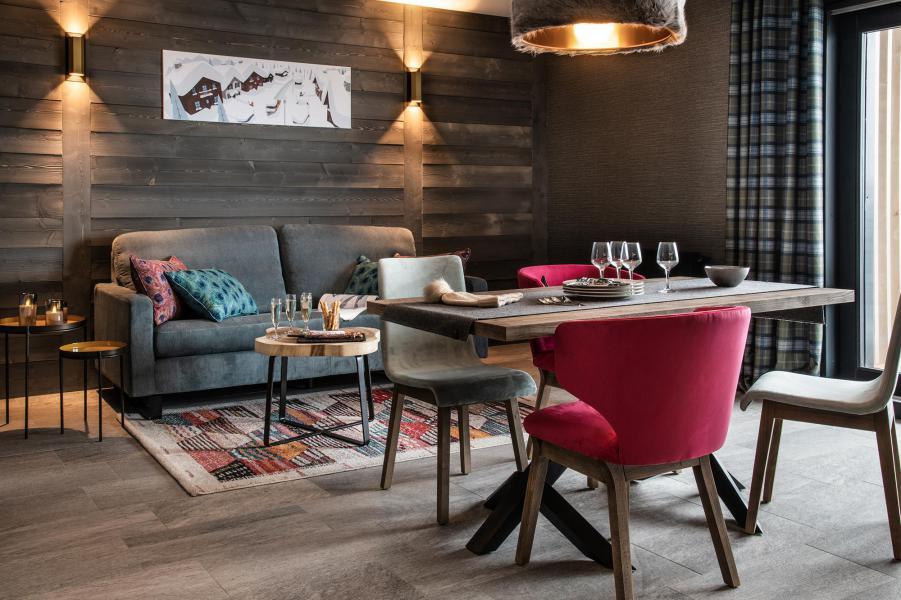 Аренда на лыжном курорте Апартаменты 3 комнат 4 чел. - Chalet Izia - Val d'Isère - Салон