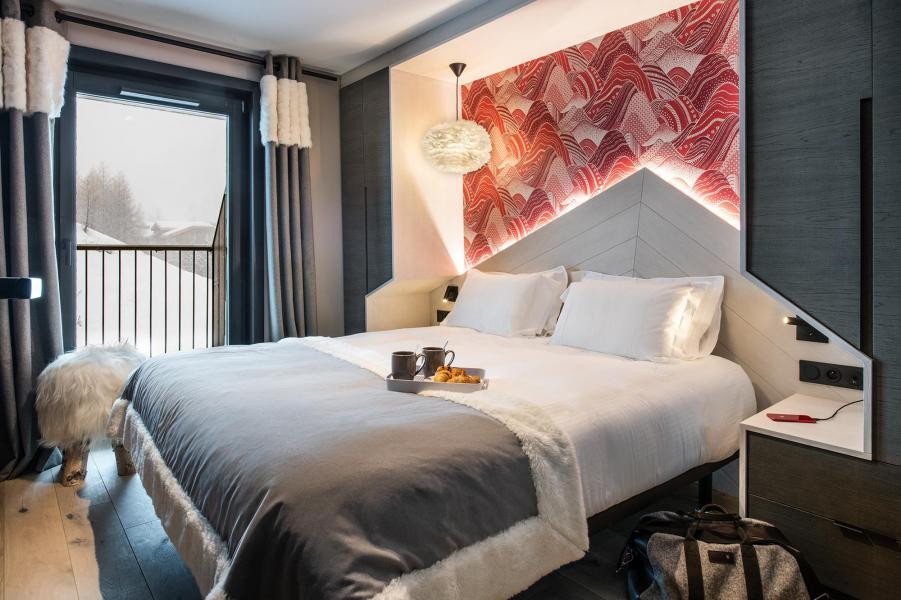 Skiverleih 3-Zimmer-Appartment für 4 Personen - Chalet Izia - Val d'Isère - Schlafzimmer
