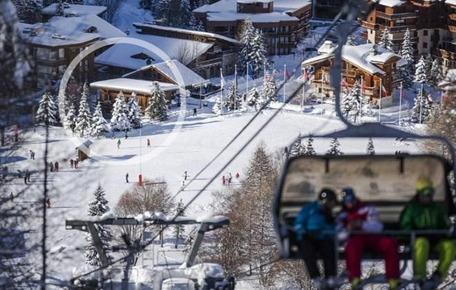 Vacances en montagne Chalet le Cabri - Val d'Isère - Extérieur hiver