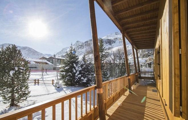 Location au ski Chalet le Cabri - Val d'Isère - Balcon