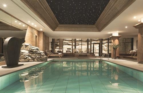 Hotel les barmes de l 39 ours val d 39 is re location vacances for Piscine val d isere