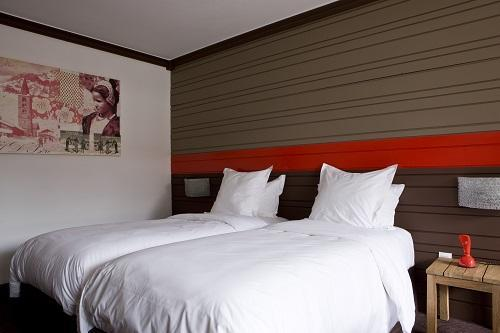 Wynajem na narty Hôtel Ormelune - Val d'Isère - Łóżka podwójne