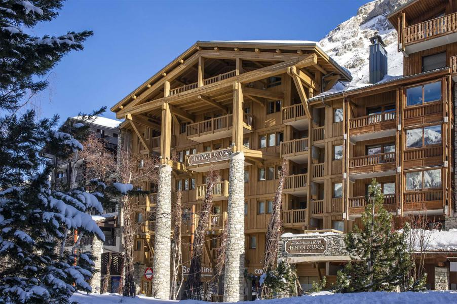 Skiverleih Résidence Alpina Lodge - Val d'Isère - Draußen im Winter
