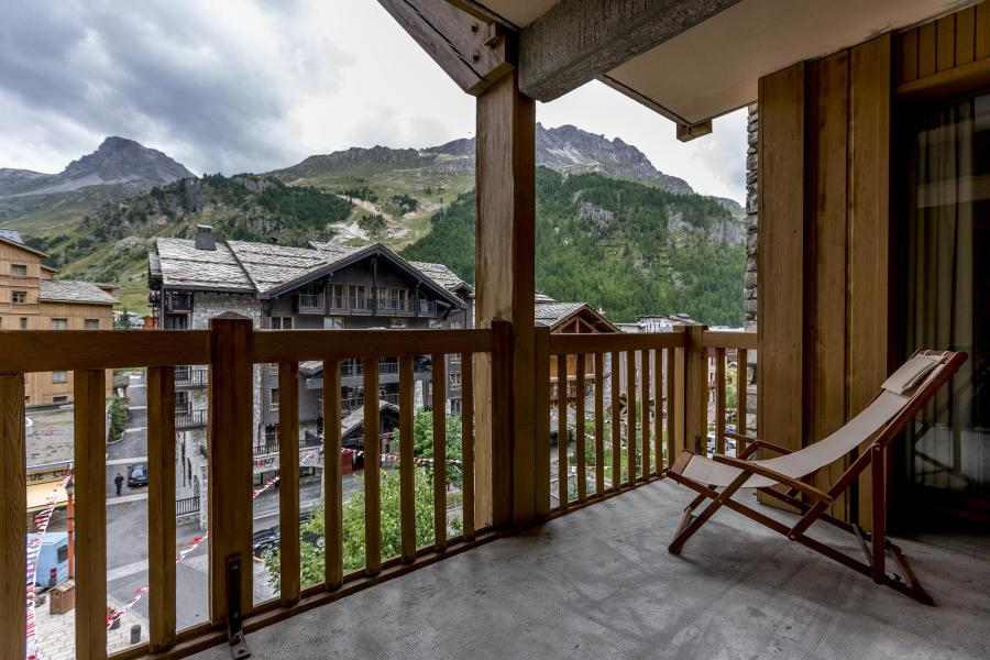 Skiverleih Résidence Alpina Lodge - Val d'Isère - Balkon