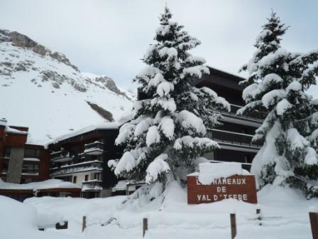 Location au ski Résidence Hameaux de Val - Val d'Isère - Extérieur hiver