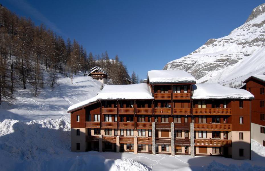 Vacances en montagne Résidence les Verdets - le Jardin de Val - Val d'Isère - Extérieur hiver