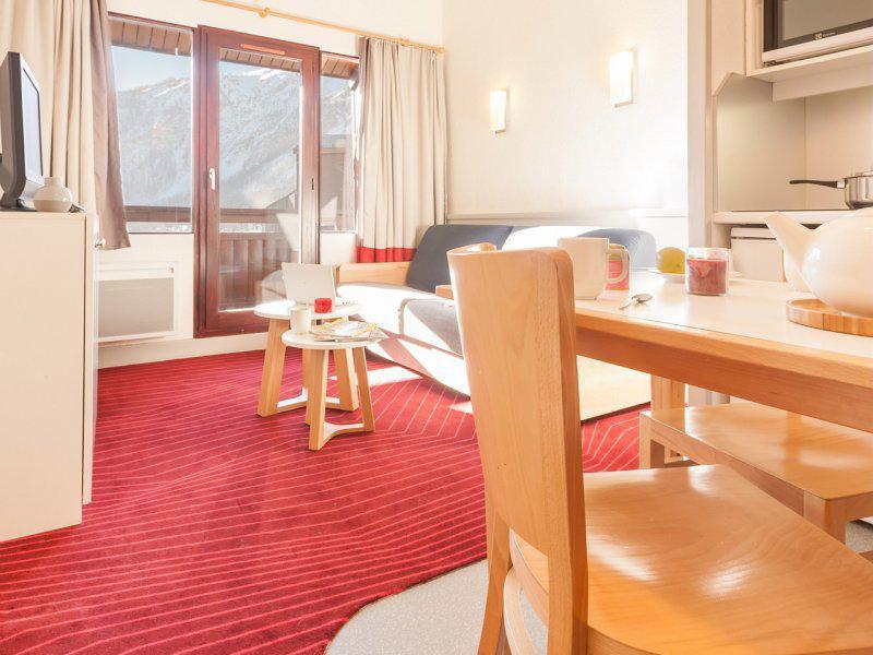 Аренда на лыжном курорте Квартира студия кабина для 4 чел. - Résidence Pierre et Vacances la Daille - Val d'Isère