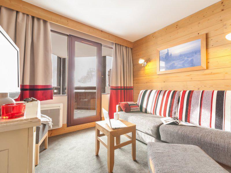Аренда на лыжном курорте Апартаменты 2 комнат  3-5 чел. - Résidence Pierre & Vacances Balcons de Bellevarde - Val d'Isère