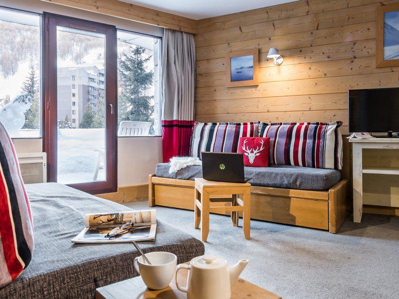 Аренда на лыжном курорте Апартаменты 2 комнат  5-7 чел. - Résidence Pierre & Vacances Balcons de Bellevarde - Val d'Isère