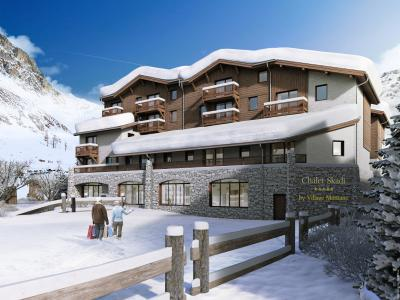Accommodation with swmimming pool Chalet Skadi