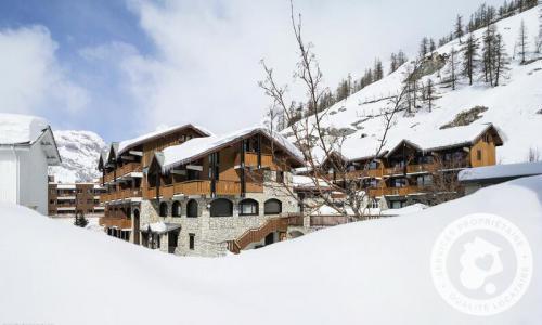 Аренда на лыжном курорте Résidence les Chalets de Solaise - Maeva Home - Val d'Isère - зимой под открытым небом