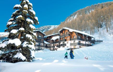 Location au ski Résidence les Hauts du Rogoney - Val d'Isère - Extérieur hiver