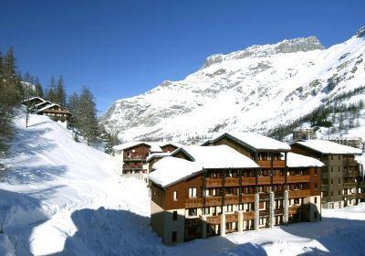 Location au ski Residence Les Verdets - Le Jardin De Val - Val d'Isère - Extérieur hiver