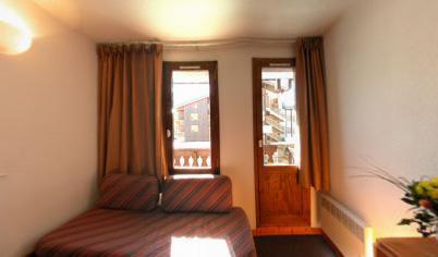 Location au ski Appartement 2 pièces 4 personnes - Residence Les Verdets - Le Jardin De Val - Val d'Isère - Lit double