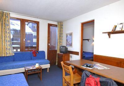 Location au ski Residence Les Verdets - Le Jardin De Val - Val d'Isère - Canapé-lit