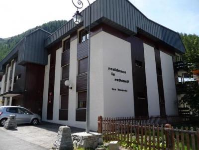 Location Val d'Isère : Résidence Rogoney - les Bleuets hiver