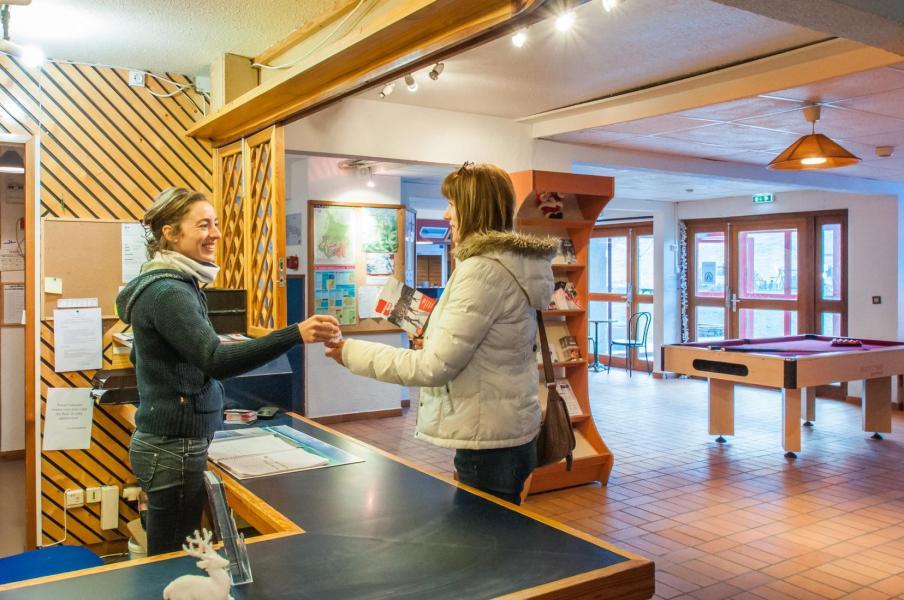 Location au ski Residence Les Gourgs Blancs - Val Louron - Réception