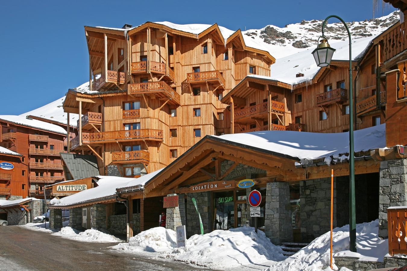 chalet altitude 20 val thorens location vacances ski