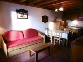 Location au ski Appartement 3 pièces cabine 6 personnes (02) - Chalet Les Trolles - Val Thorens - Canapé