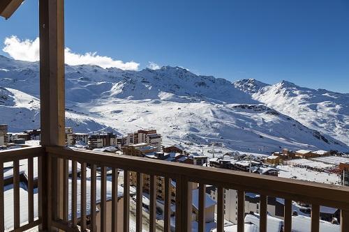 Location au ski Hotel Koh I Nor - Val Thorens - Balcon