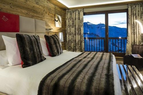 Location au ski Hotel Koh I Nor - Val Thorens - Chambre