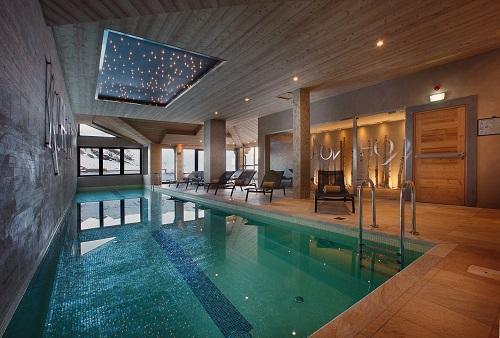 Location au ski Hotel Koh I Nor - Val Thorens - Piscine