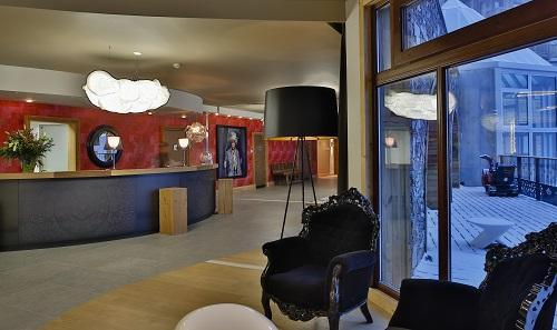 Location au ski Hotel Koh I Nor - Val Thorens - Réception