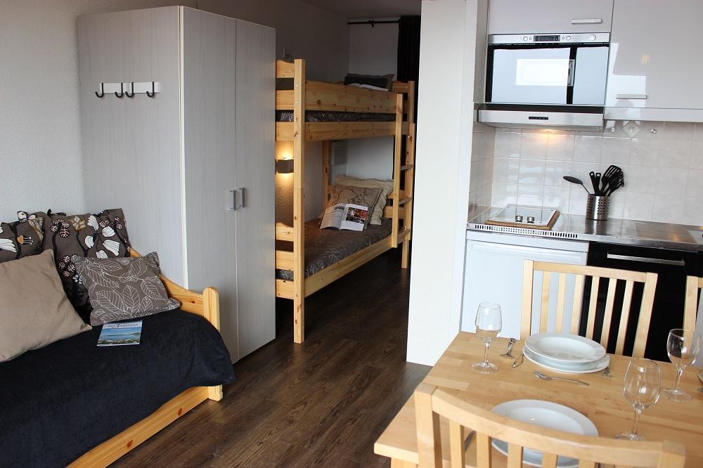 Location au ski Studio 3 personnes (508) - La Residence Altineige - Val Thorens - Séjour
