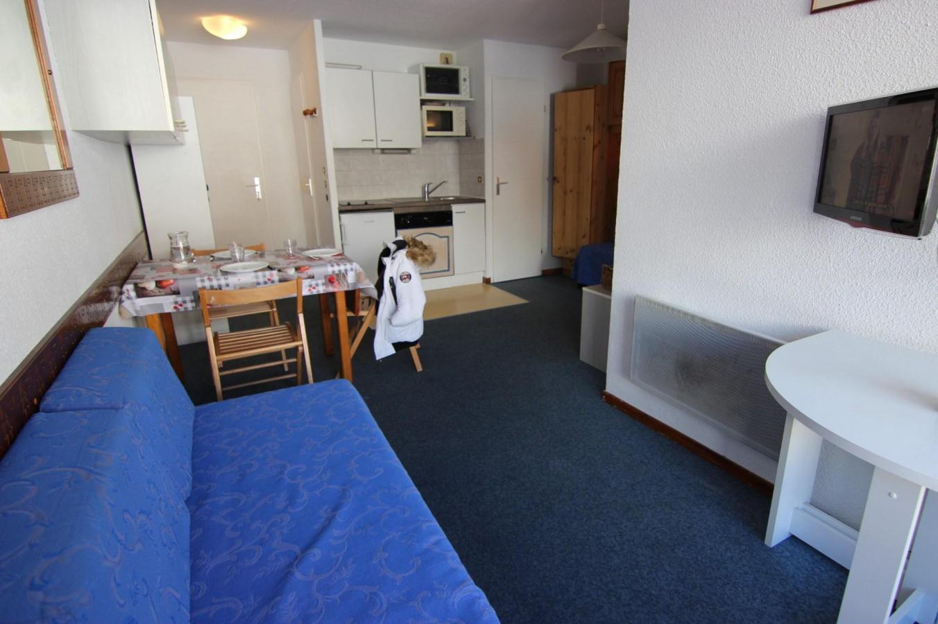 Location au ski Studio cabine 4 personnes (515) - La Residence Altineige - Val Thorens - Séjour