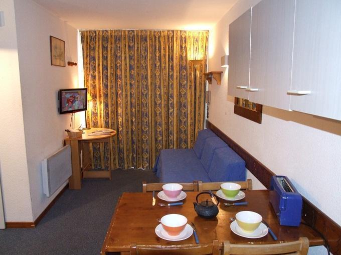 Location au ski Studio cabine 4 personnes (515) - La Residence Altineige - Val Thorens - Table