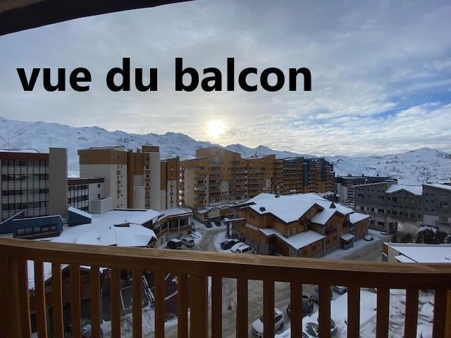 Location au ski Studio cabine 5 personnes (149) - La Residence La Roche Blanche - Val Thorens - Extérieur hiver