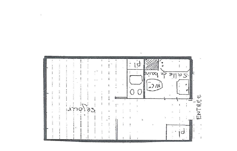 Location au ski Studio 4 personnes (168) - La Residence La Roche Blanche - Val Thorens - Plan