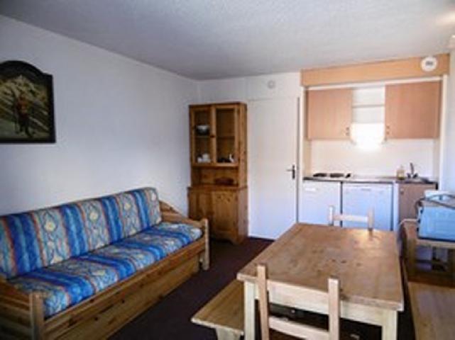 Location au ski Studio coin montagne 5 personnes (088) - La Residence La Roche Blanche - Val Thorens - Table