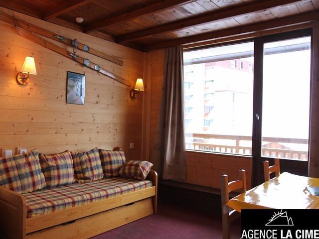 Location au ski Studio 4 personnes (303) - La Residence Le Lac Blanc - Val Thorens - Lits superposés