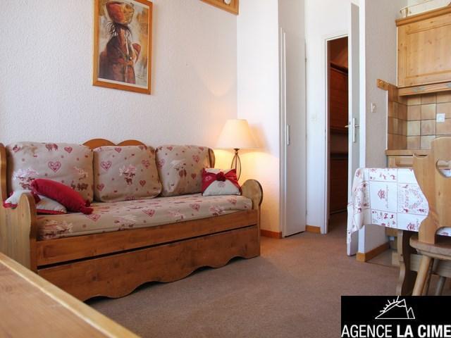 Location au ski Studio 4 personnes (070) - La Residence Les Eterlous - Val Thorens - Séjour