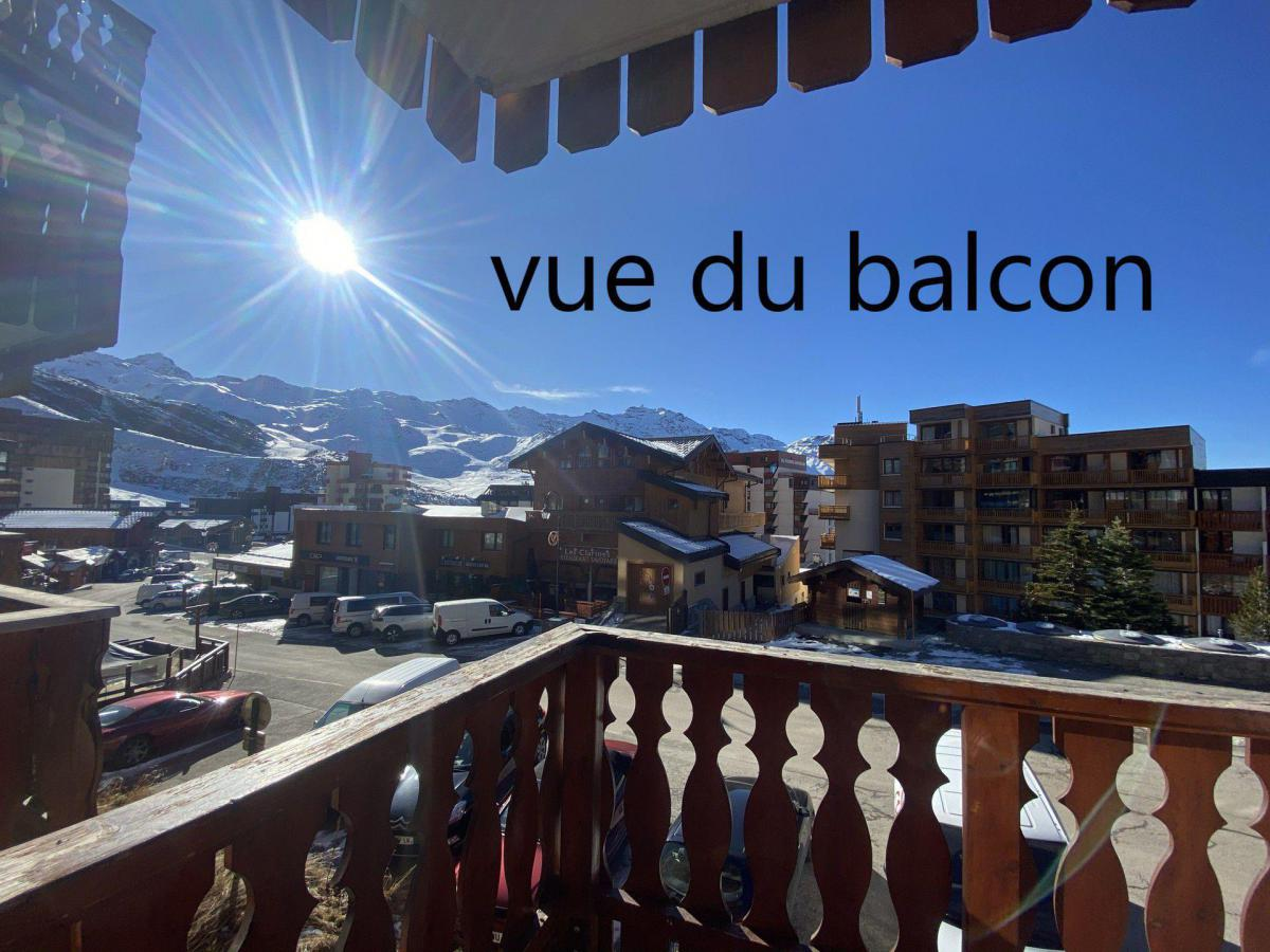 Location au ski Studio 4 personnes (073) - La Residence Les Neves - Val Thorens