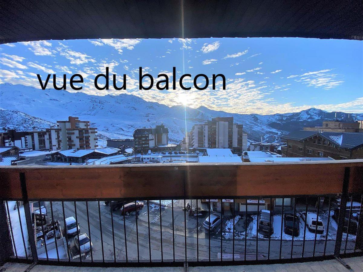 Location au ski Studio 4 personnes (165) - La Residence Les Neves - Val Thorens - Extérieur hiver