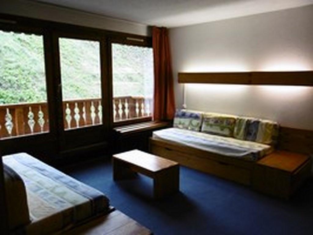 Location au ski Studio 4 personnes (055) - La Residence Les Neves - Val Thorens - Séjour