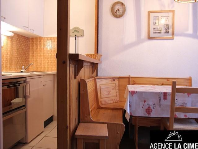 Location au ski Studio 4 personnes (113) - La Residence Les Neves - Val Thorens - Kitchenette