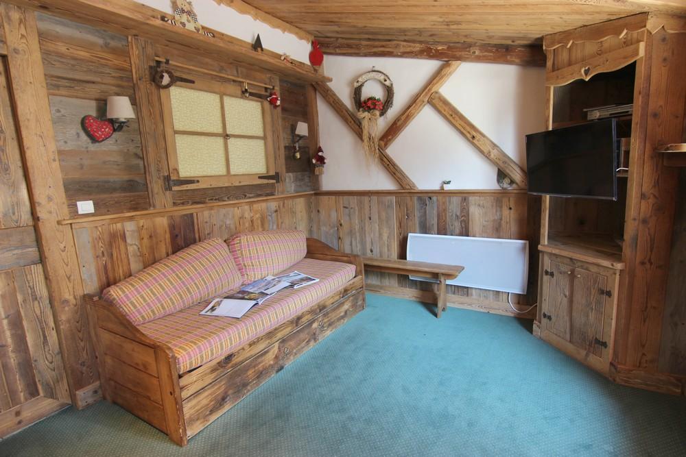 Location au ski Appartement 3 pièces 6 personnes (32) - Le Chalet Diamant - Val Thorens - Chambre