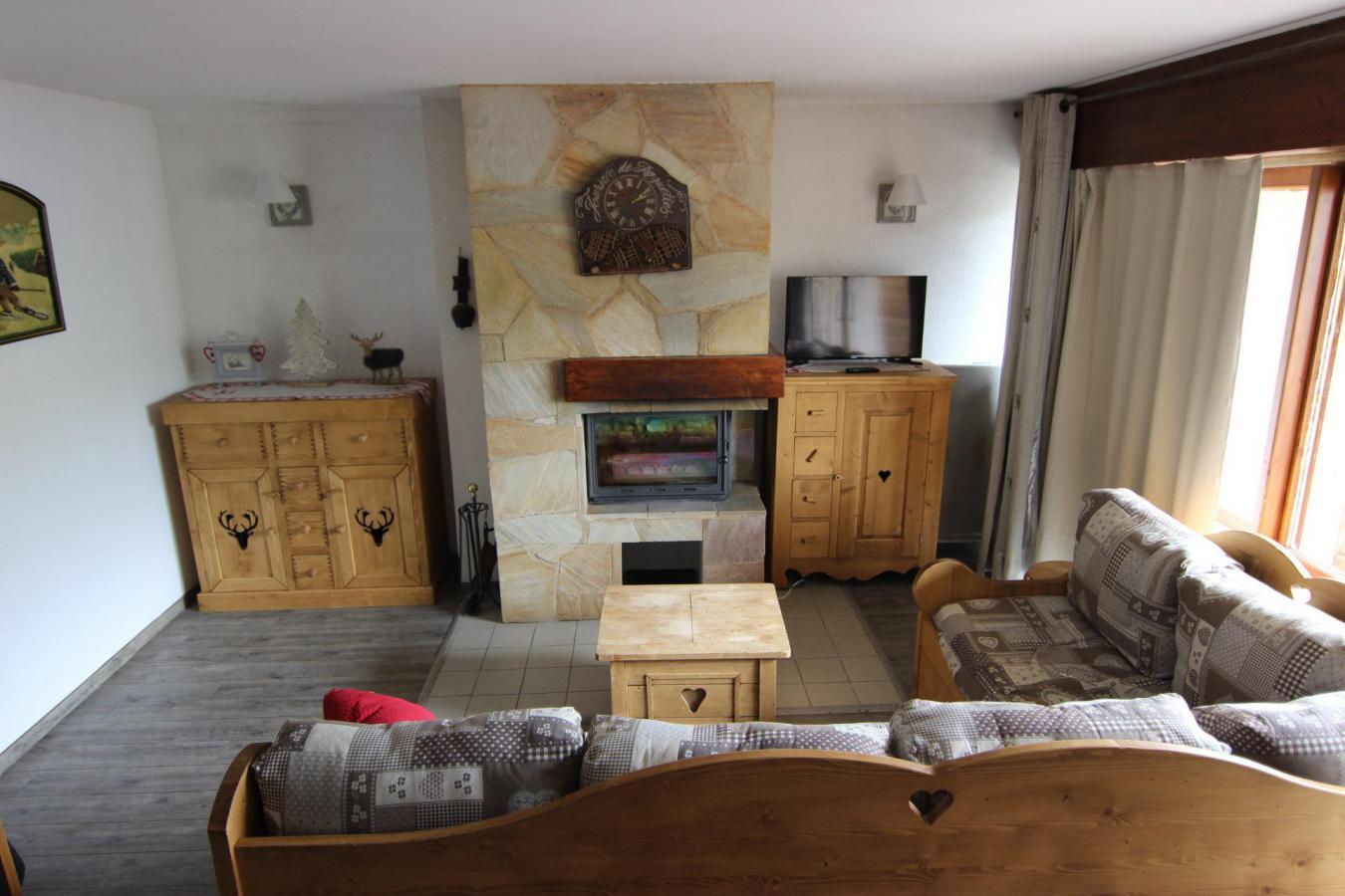 Location au ski Appartement 3 pièces 6 personnes (7) - Residence Beau Soleil - Val Thorens - Tv à écran plat
