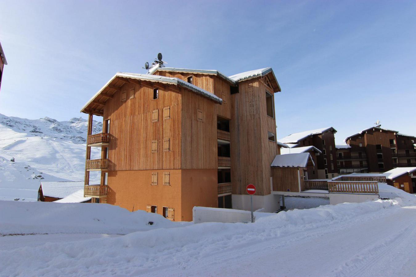 Location au ski Appartement 3 pièces 6 personnes (3) - Residence Beau Soleil - Val Thorens - Extérieur hiver