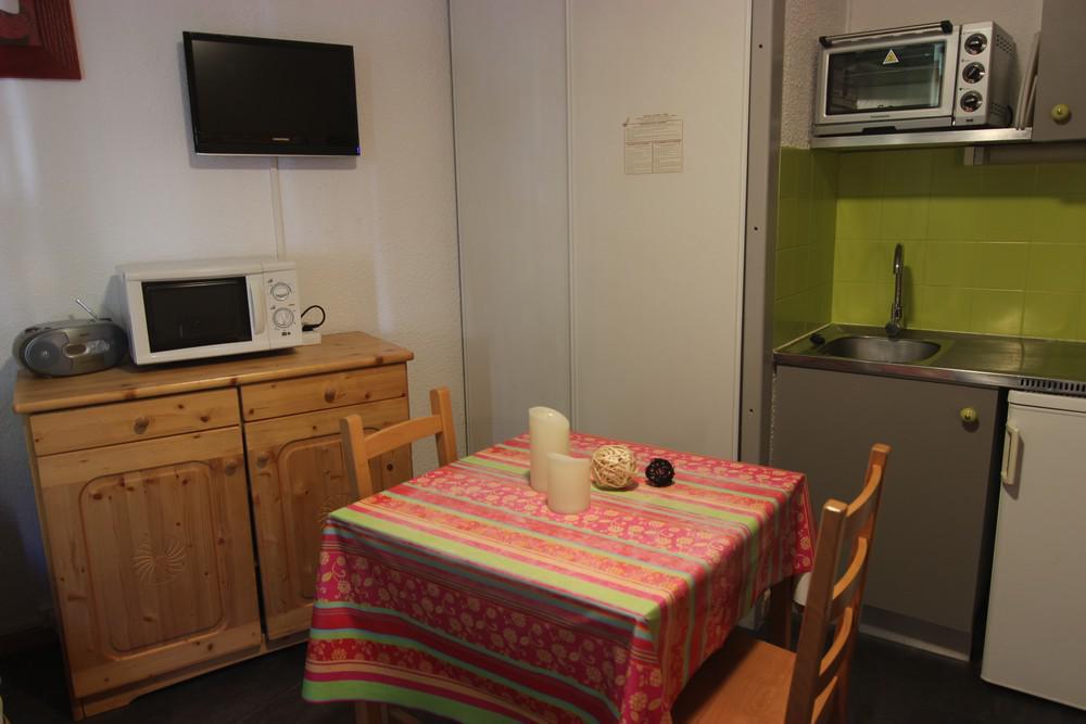 Location au ski Studio 2 personnes (2703) - Residence Cimes De Caron - Val Thorens - Plan